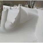 disegni di neve nell'aiarina